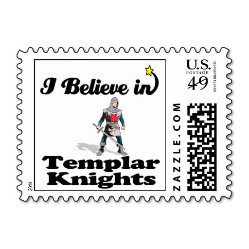i believe in templar knights postage stamps. It is really great to make each let...