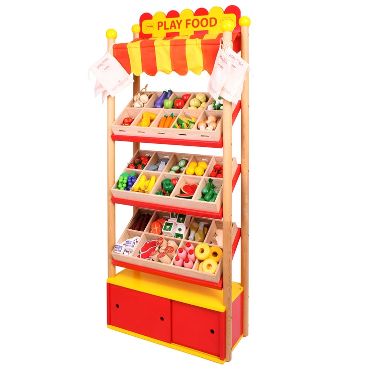 With 30 crates to fill up with all kinds of great wooden food, along with a smal...