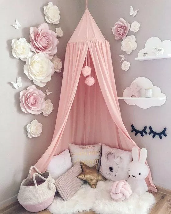 46 types of kids rooms ideas for girls toddler daughters princess bedrooms 64 ~ ...