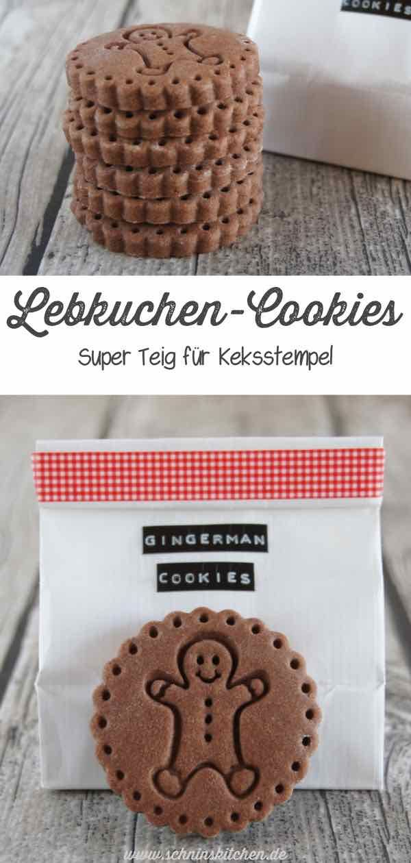 Gingerbread cookies - super dough for biscuit stamp