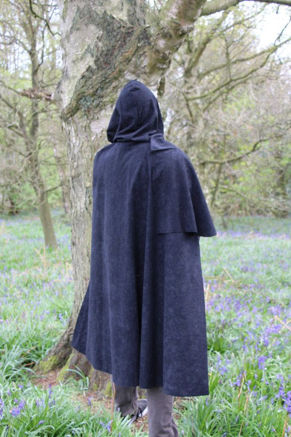 Adult Archer Cape cloak Hunter Robin Hood Destiny Cosplay Knight Medieval Assassin Warrior Ranger Apprentice Jedi Lightsaber Friendly