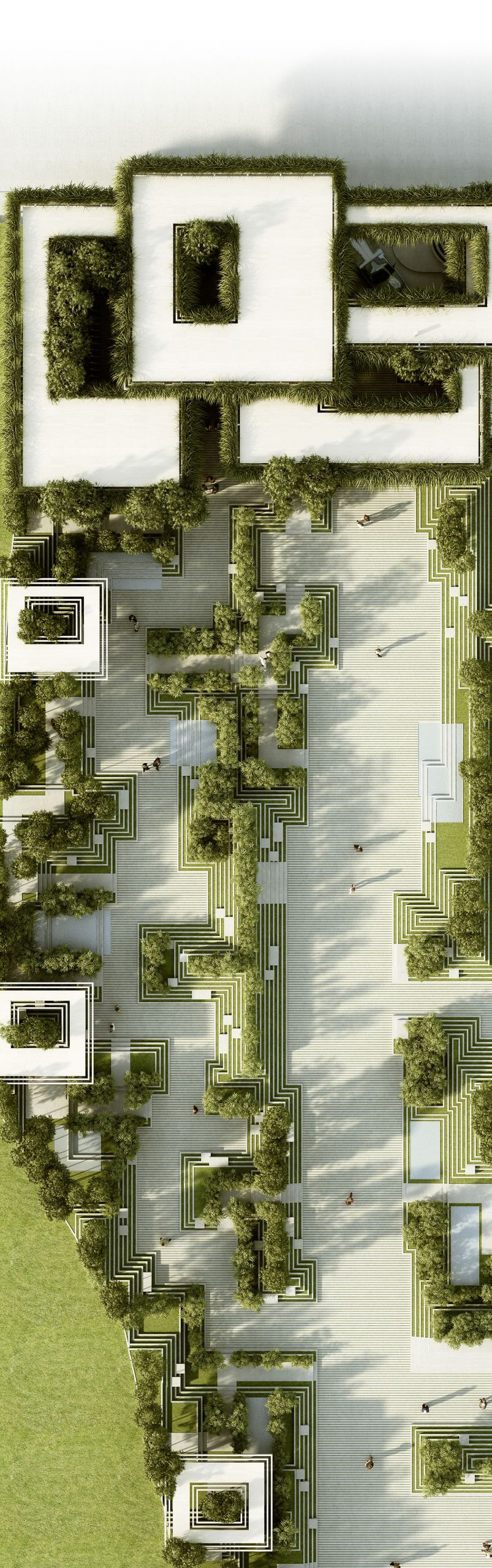 The project describes a landscape design and facade design for a residential dev...