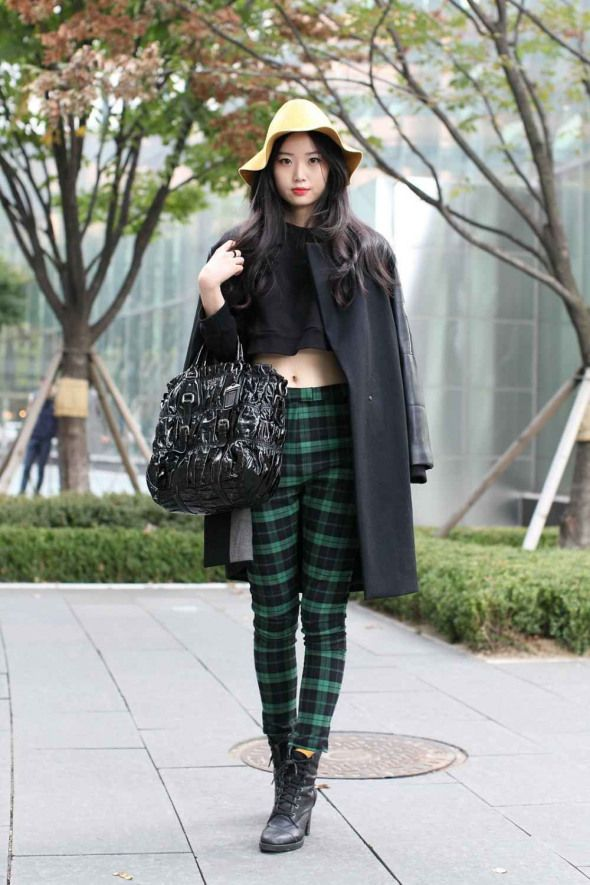 South Korea Street Style - Seoul Fashion Week #koreanfashion #korean #fashion #p...