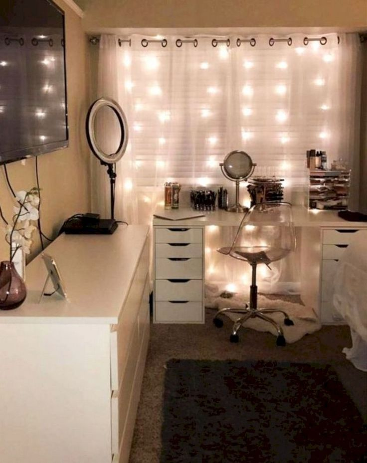 45+ simple and beautiful teen room decor ideas for girls