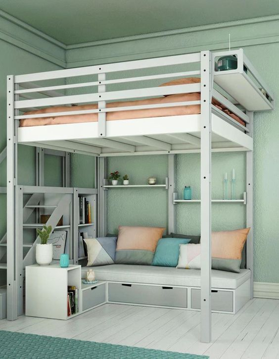 Discover room decor ideas for girls based on popular themes or fine color patterns