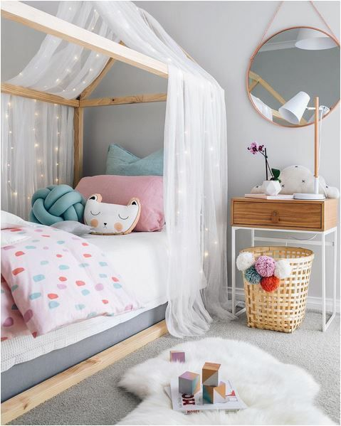 You feel inspired to change the decor of your daughter's room? Look at ours