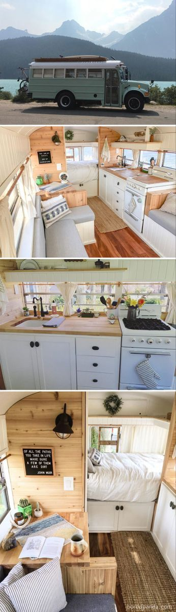 One of our favorite parts on the bus is their fully functional kitchen - Bu ...