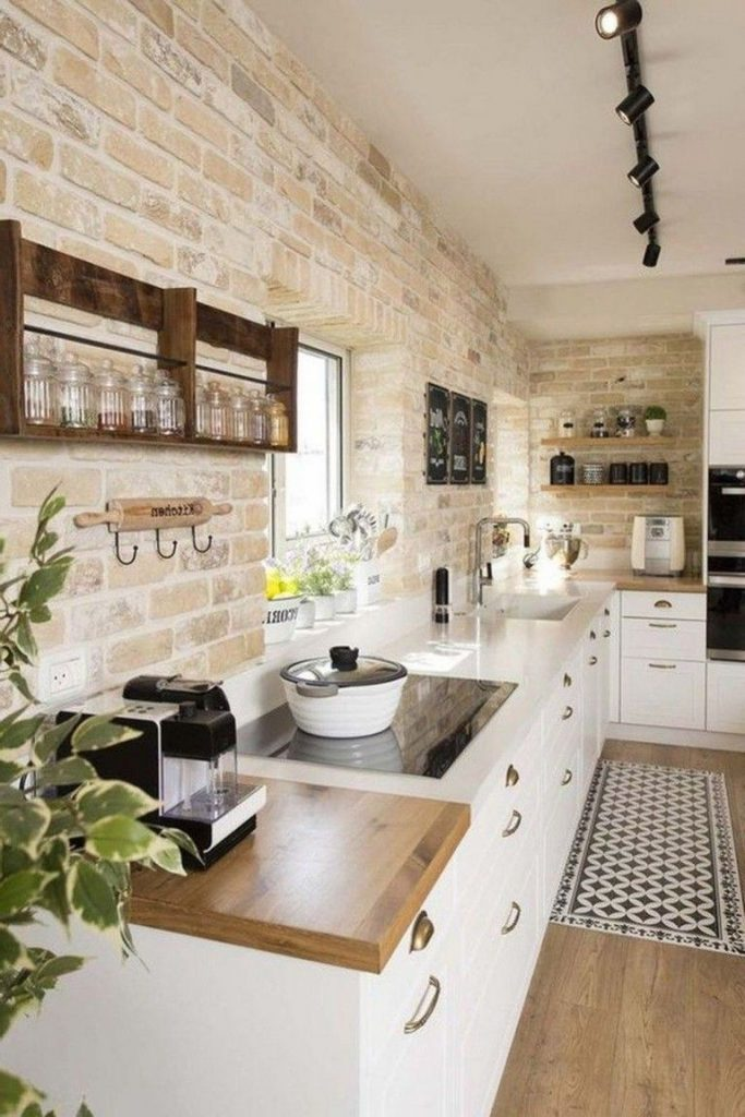 40+ Awesome Modern Farmhouse Kitchen Design Ideas To Blend Modern And Classic Th...