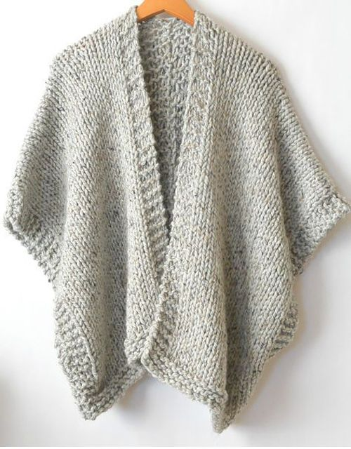 Telluride Easy Knit Kimono - Free Pattern (Amazing Knitting)