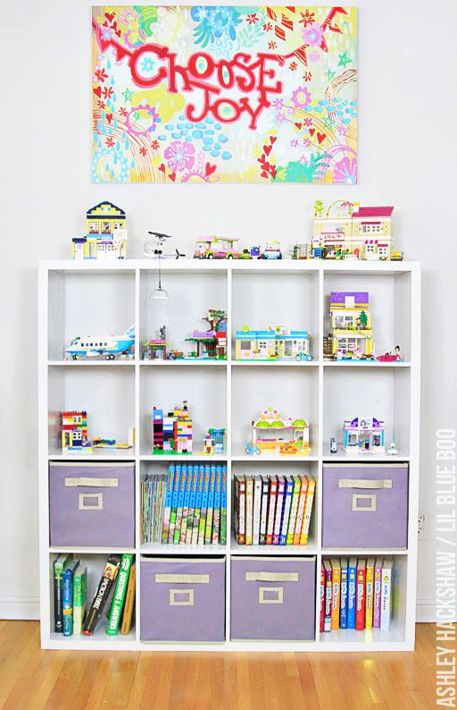 Lego Storage and Display Ideas - Ashley Hackshaw / Lil Blue Boo