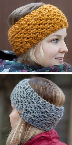 Free until Dec 31, 2019 Knitting Pattern for Garibaldi Earwarmer Headband - Gari...