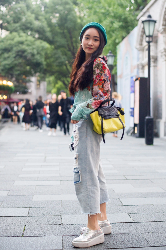 They Are Wearing: Shanghai Fashion Week Spring 2016