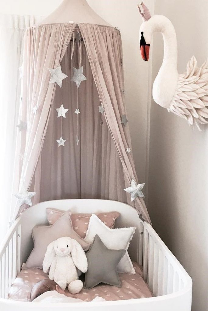 Inspiration from Instagram -Temika Trimboli @temikatrimboli - Pastel Girl Room Ideas, Pink and Gray Girl Room Design, Nursery Decor, Girls Nursery, Powder, Kids Room - Nursery Ideas4.tk | Nursery ideas