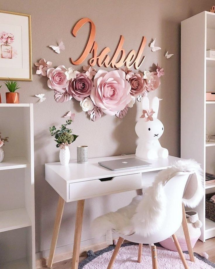 39 fabulous pink girls bedroom ideas to realize their dreamy space 15