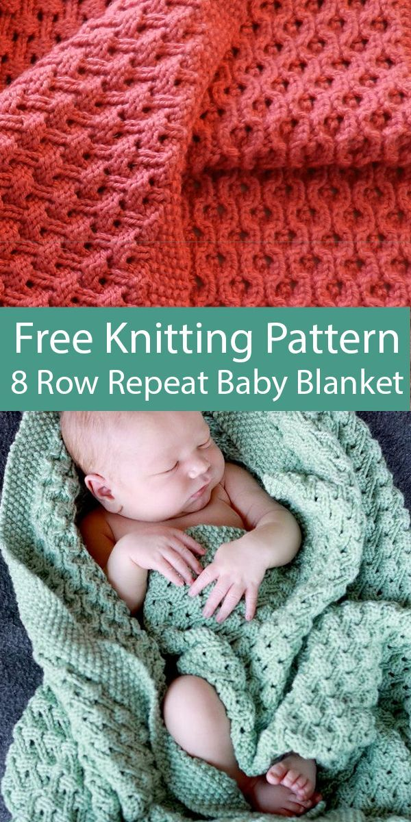 Free knitting pattern for 8 rows repeat hourglass belts Baby Felt