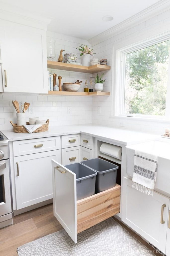 Storage and organization ideas from our new kitchen