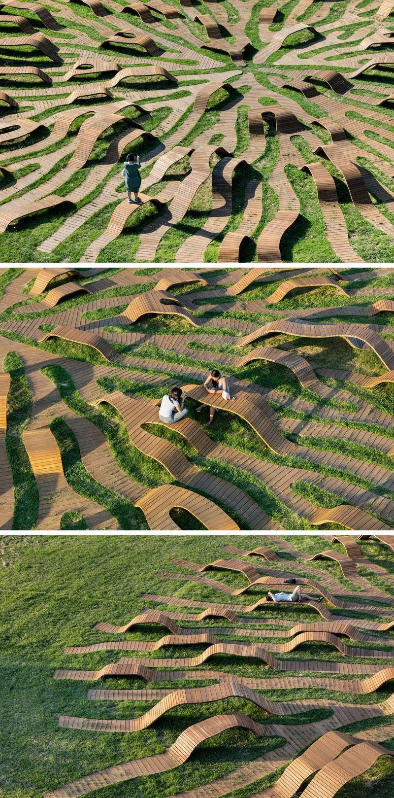 Yong Ju Lee Architecture Have Created The 'Root Bench' In Seoul