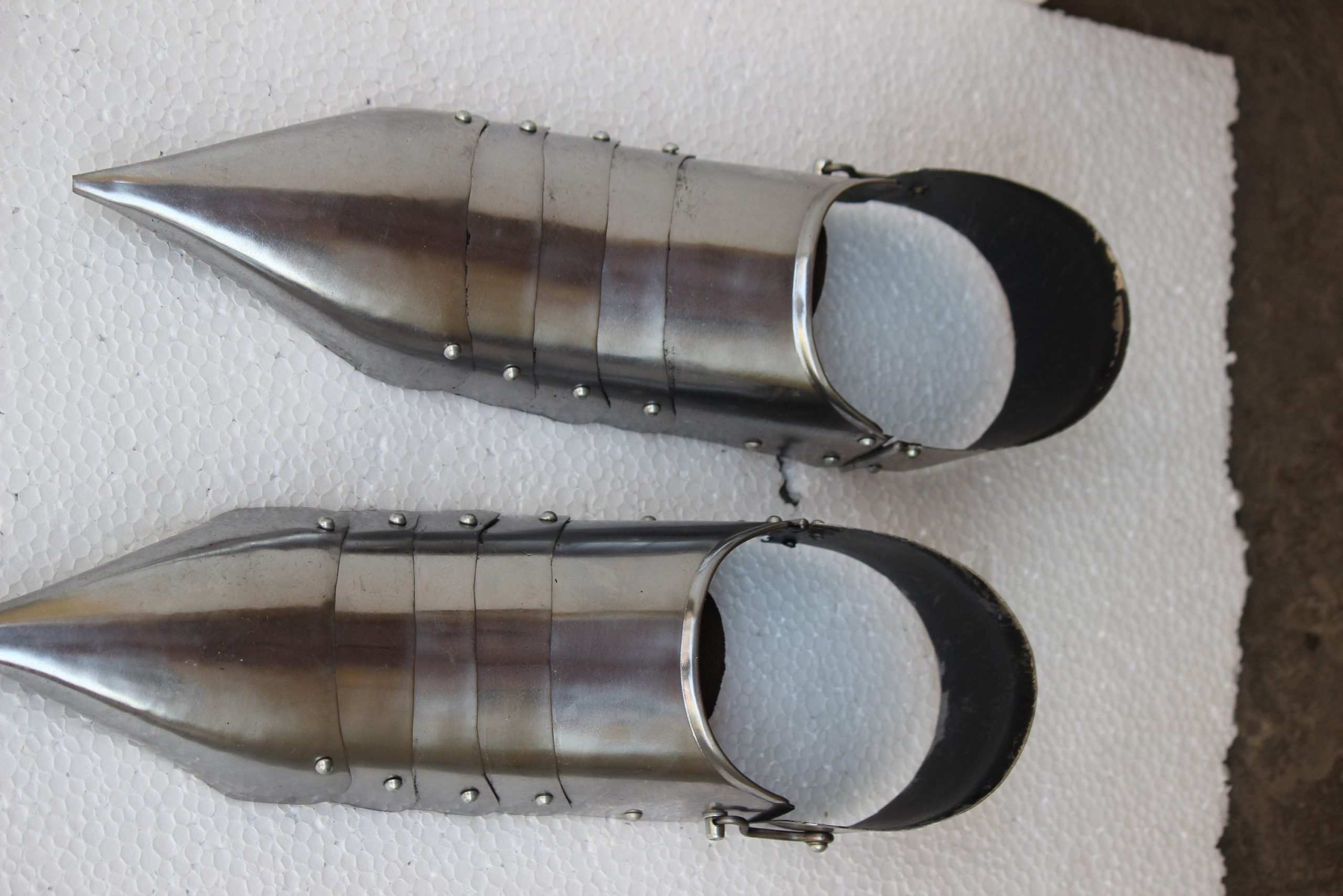 New Gothic Knight Medieval Handmade Costume Shoes