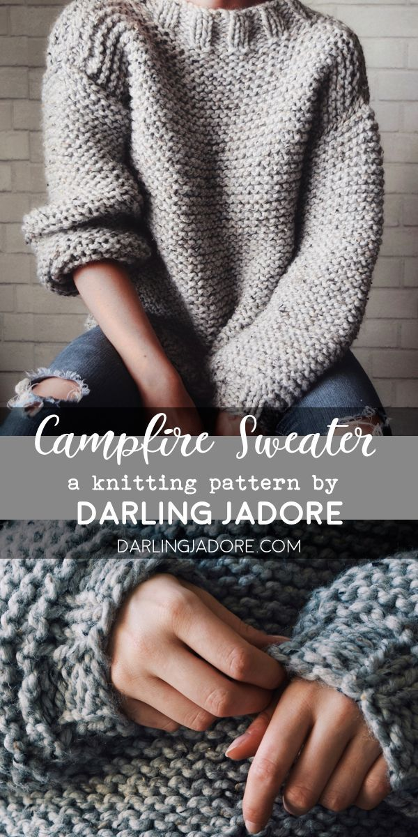 The Campfire Sweater Knitting Pattern