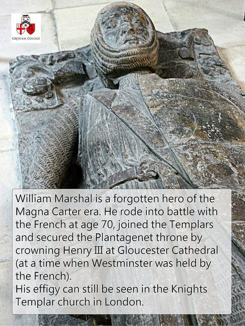 William Marshall, Knight Templar