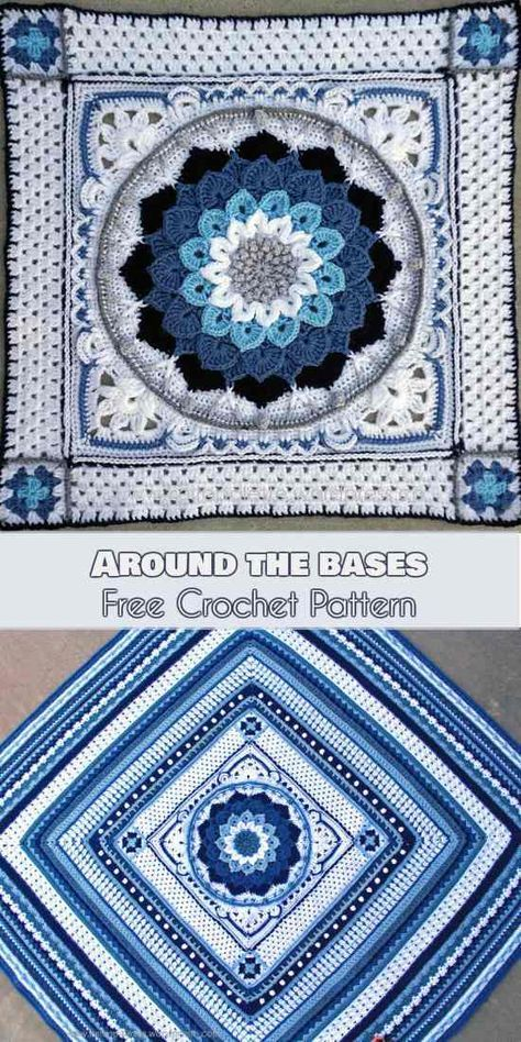Around the bases, #bases #crochet #pattern
