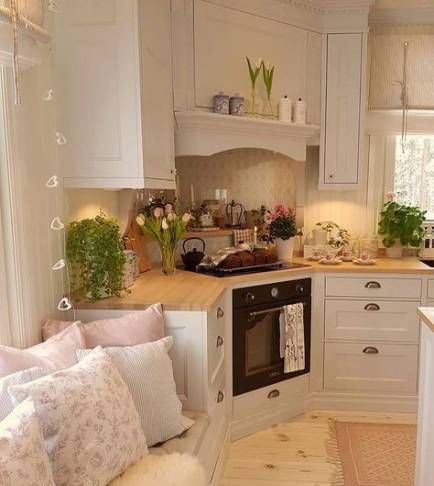 46+ Trendy ideas kitchen country small shabby chic