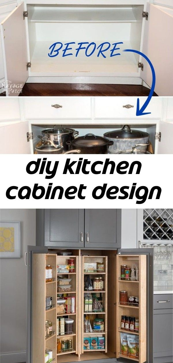 Diy kitchen cabinet design
