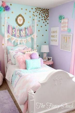 if you're searching for girl bedroom ideas, think about what your daughter lov...
