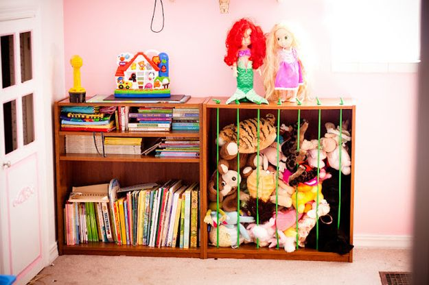 41 Clever Organizational Ideas For Your Child's Playroom