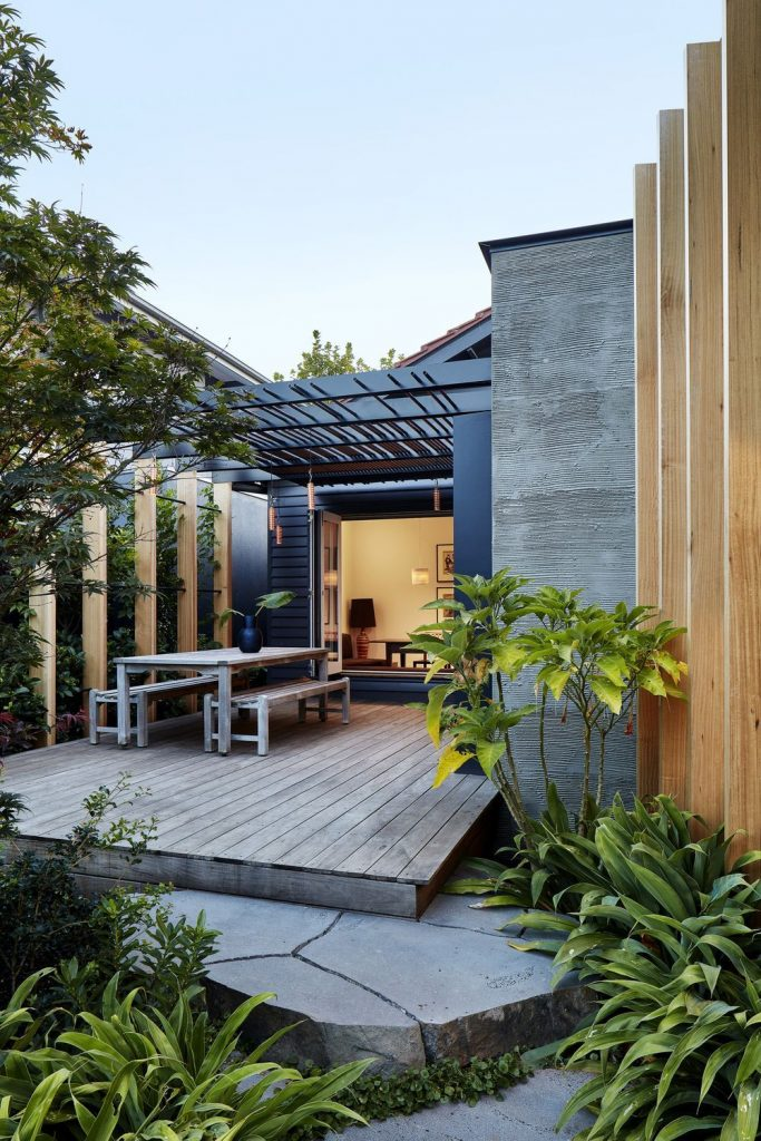 Taking Heed From The Created Vistas And Form Of The Existing Bungalow, The New B...