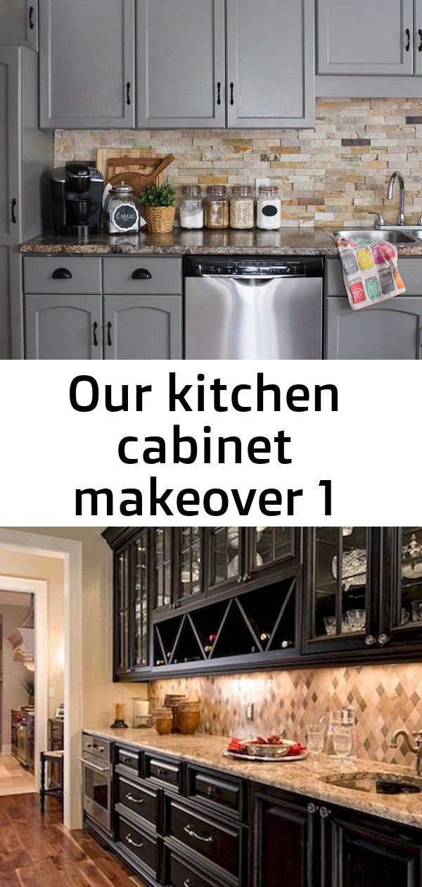 Our kitchen cabinet makeover 1
