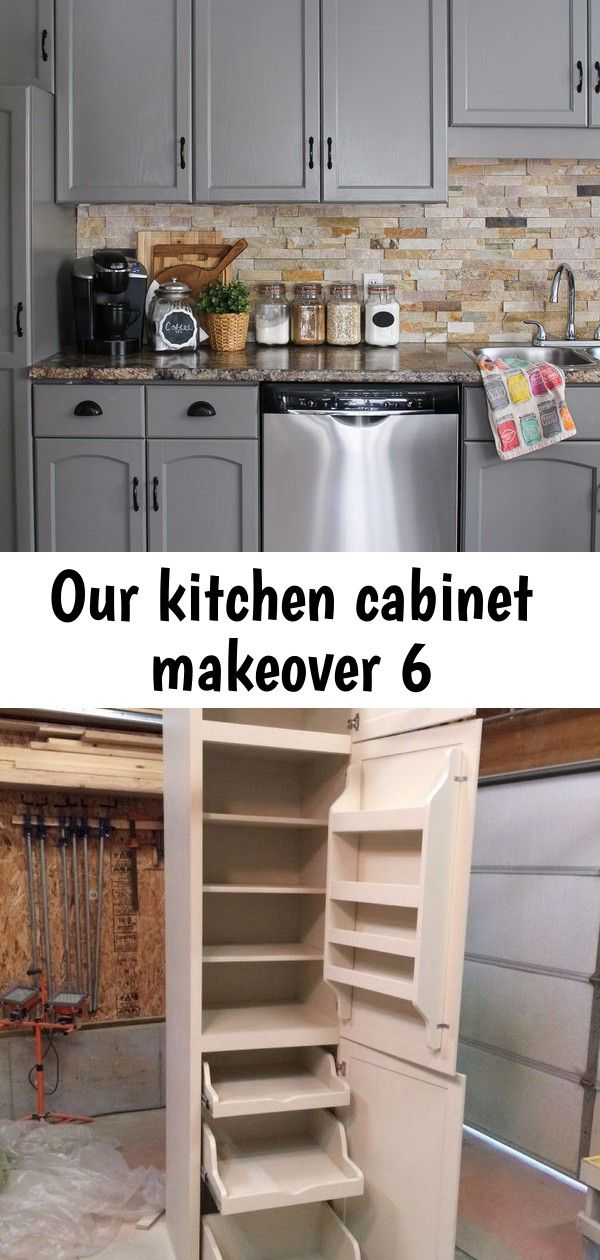 Our kitchen cabinet makeover 6