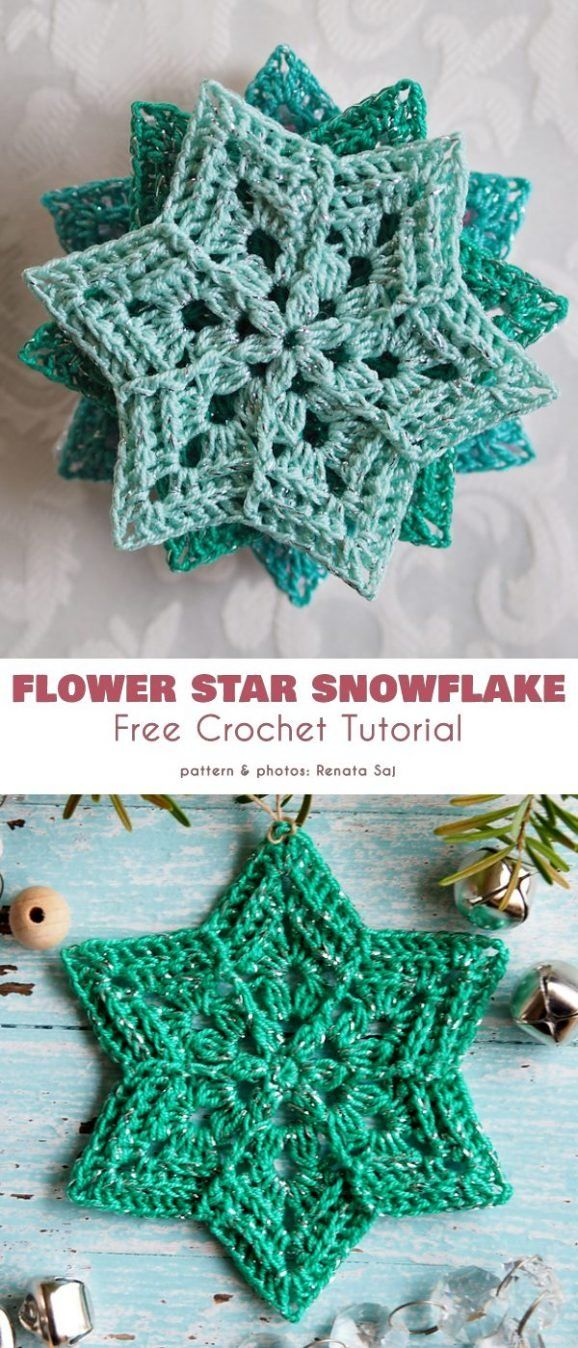 Collection of The Best Free Snowflake Crochet Patterns