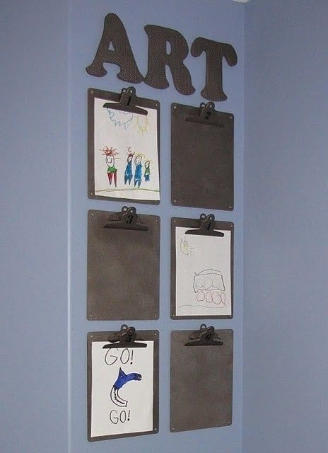 41 clever ideas on how to organize the rooms of your children