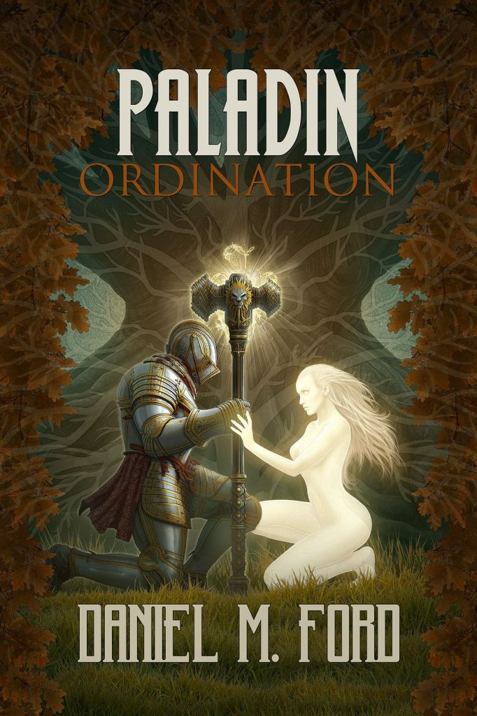 Paladin - Ordination Cover (Kerem Beyit) - cover art for Ordination: Book One of...