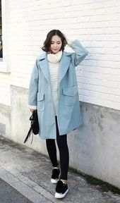 Top winter korean fashion  #winterkoreanfashion - #fashion #korean #winter #wint...