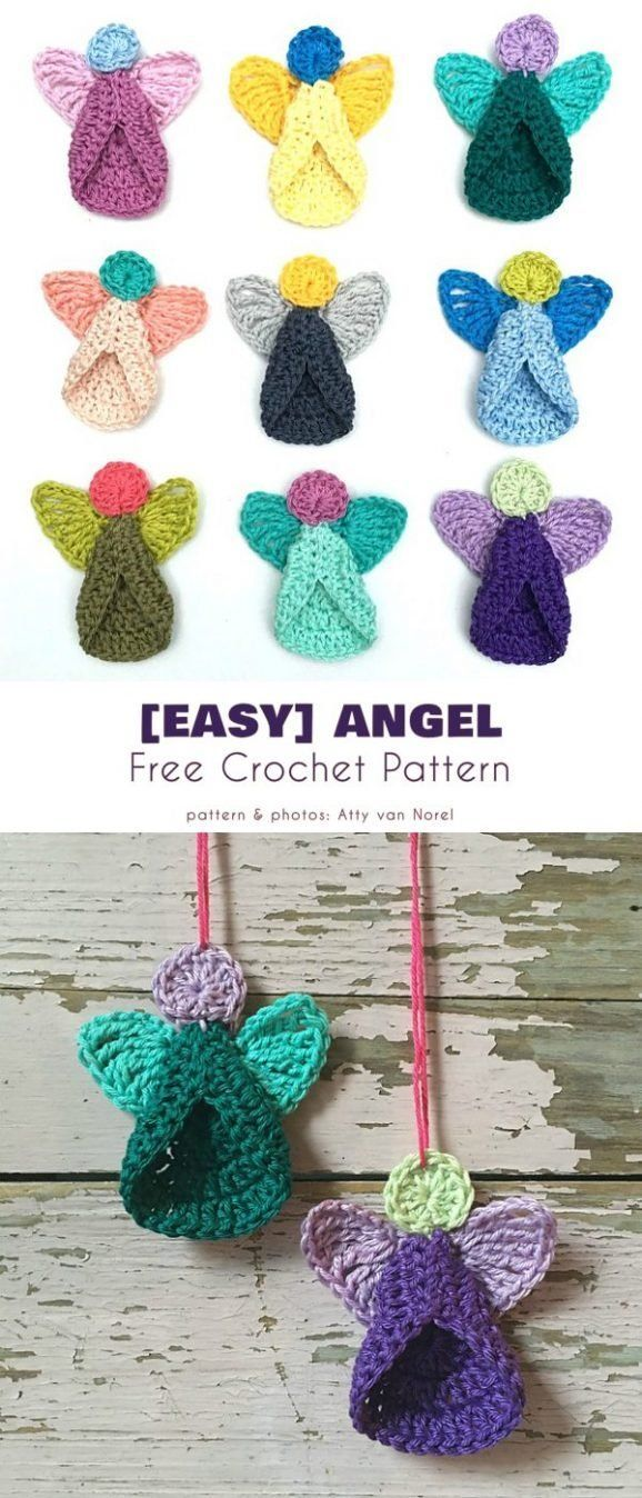 Easy Angel Free Crochet Pattern This lovely angel is very quick to make and is a must for your Chris