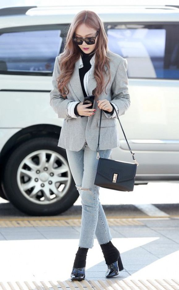 Jessica Airport Fashion 2017 - Official Korean Fashion #koreanfashion #korean #f...
