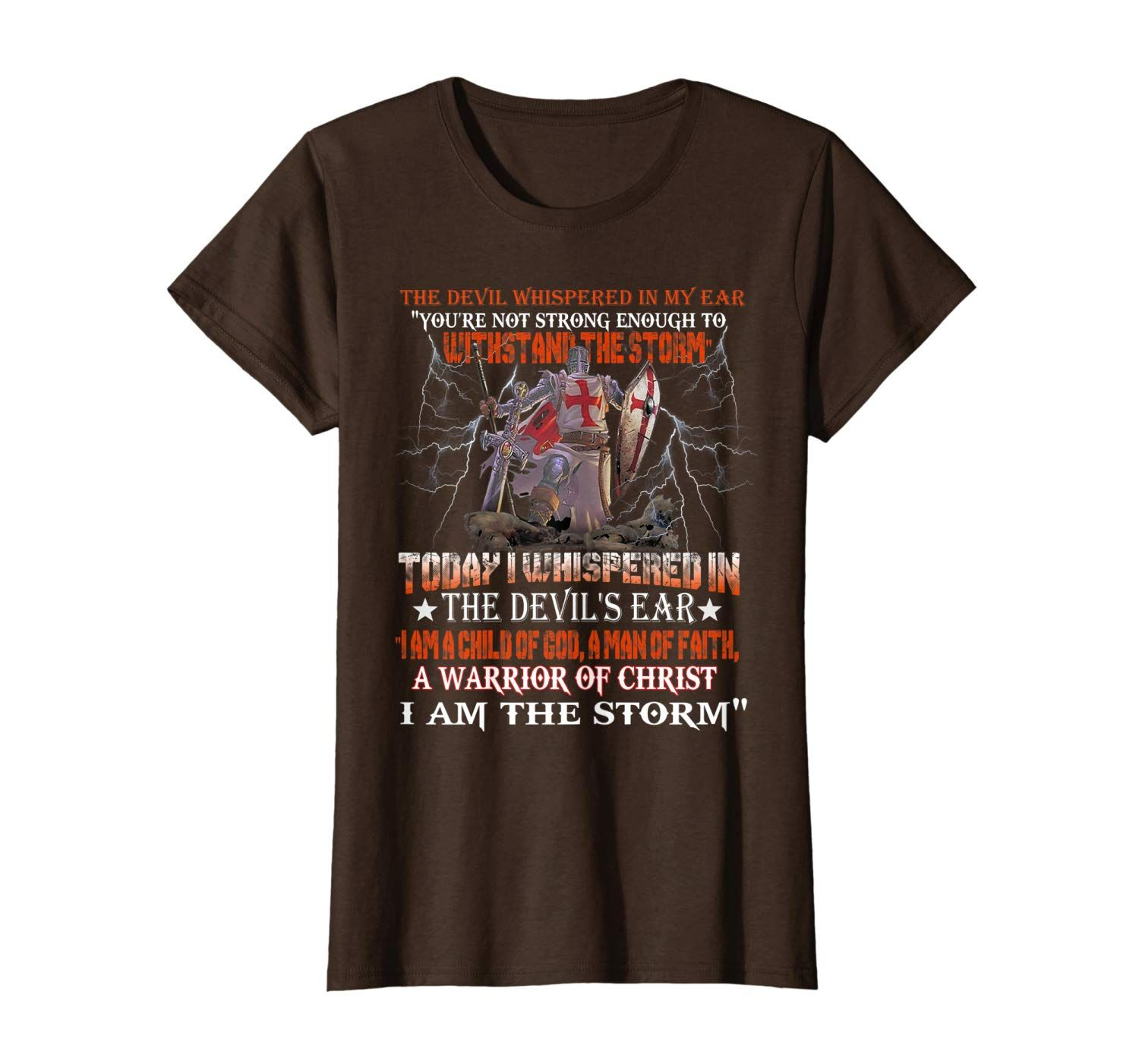 Knight Templar I Am A Child Of God A Warrior Of Christ T-Shirt