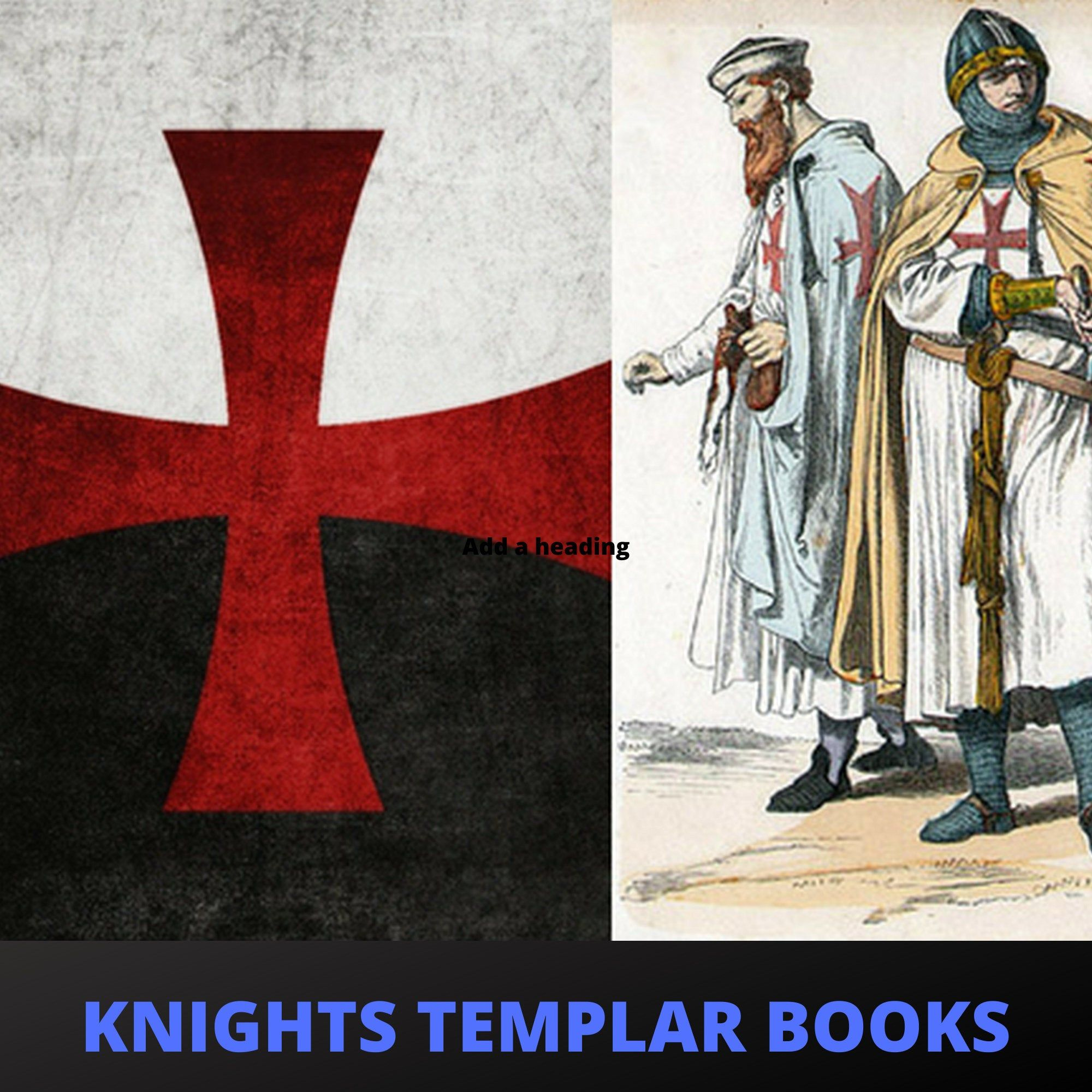 Knights Templar Crusades Freemasons Secret Rituals - 148 Vintage Rare Out-of-print PDF Books