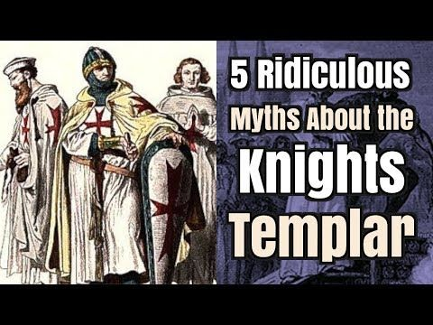 5 Ridiculous Myths About the Knights Templar - YouTube