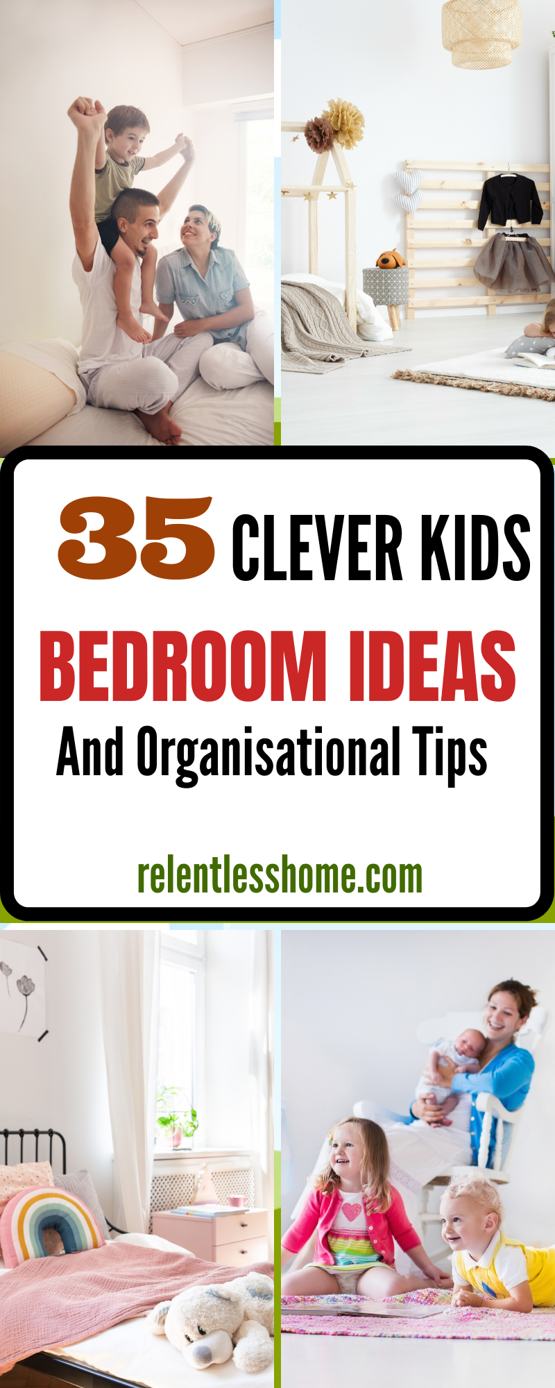 30 Clever Kids Bedroom Ideas And Organisational Tips