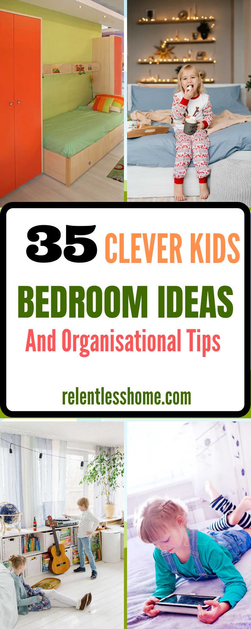 35 Clever Kids Bedroom Ideas And Organisational Tips