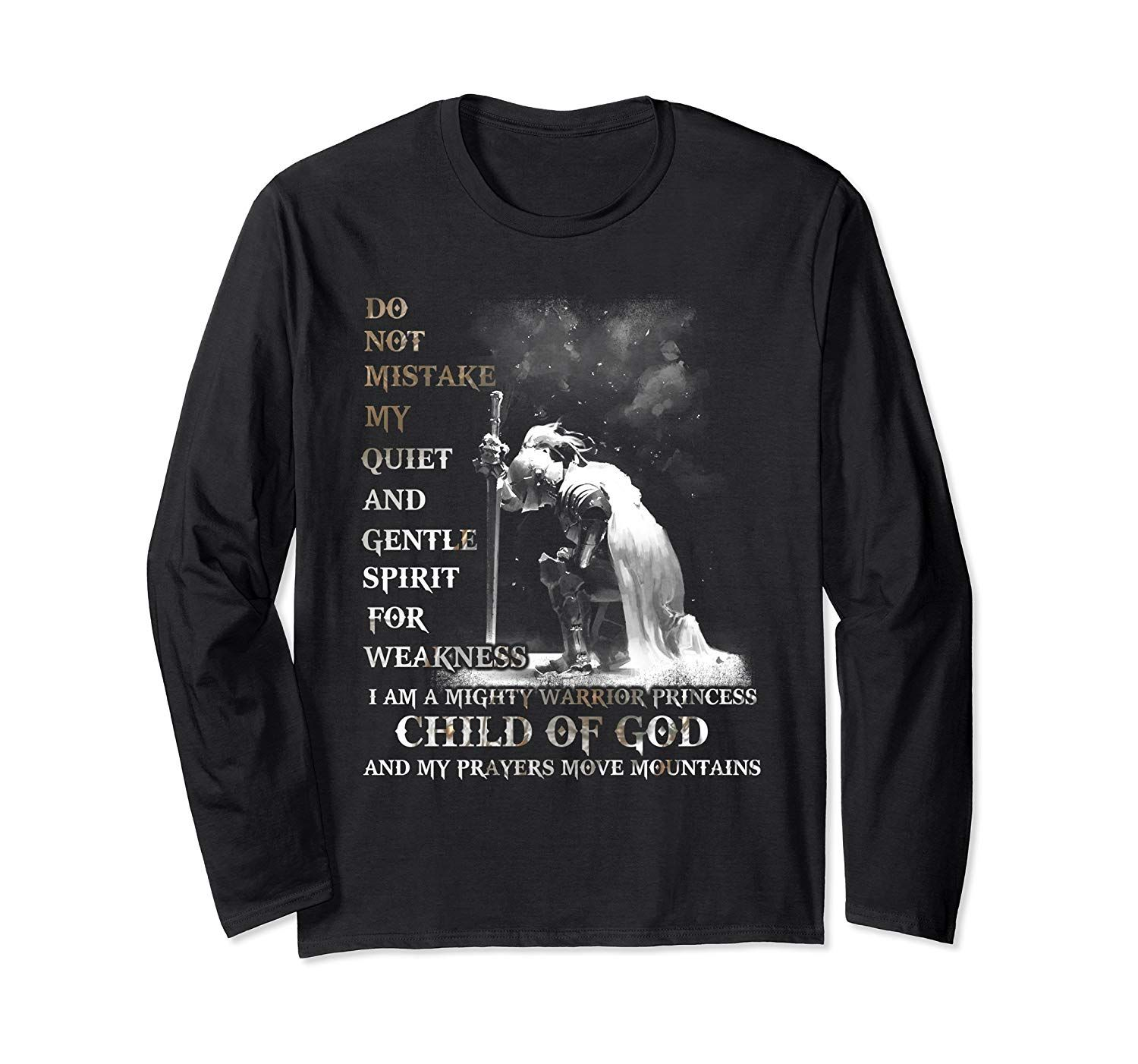 Knight Templar I Am A Child Of God A Warrior Of Christ Shirt Long Sleeve T-Shirt