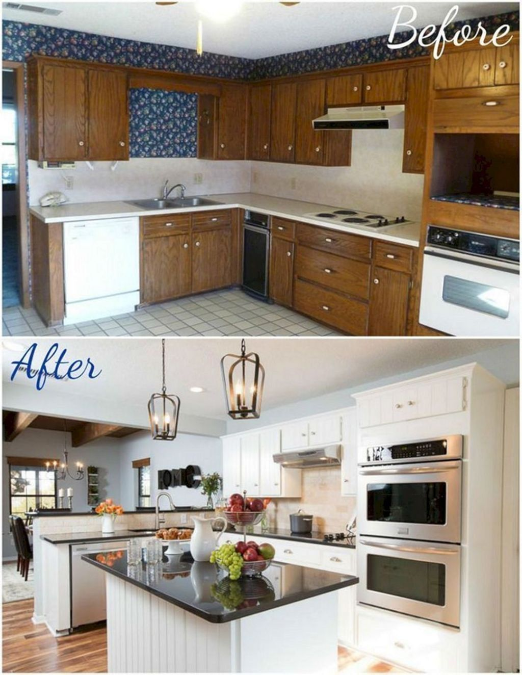40  Best Kitchen Renovation Ideas With Before And After Pictures To Inspire You