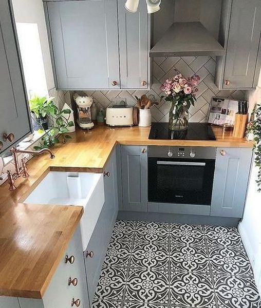 53 Small Kitchen Design Ideas That Remodel Layout