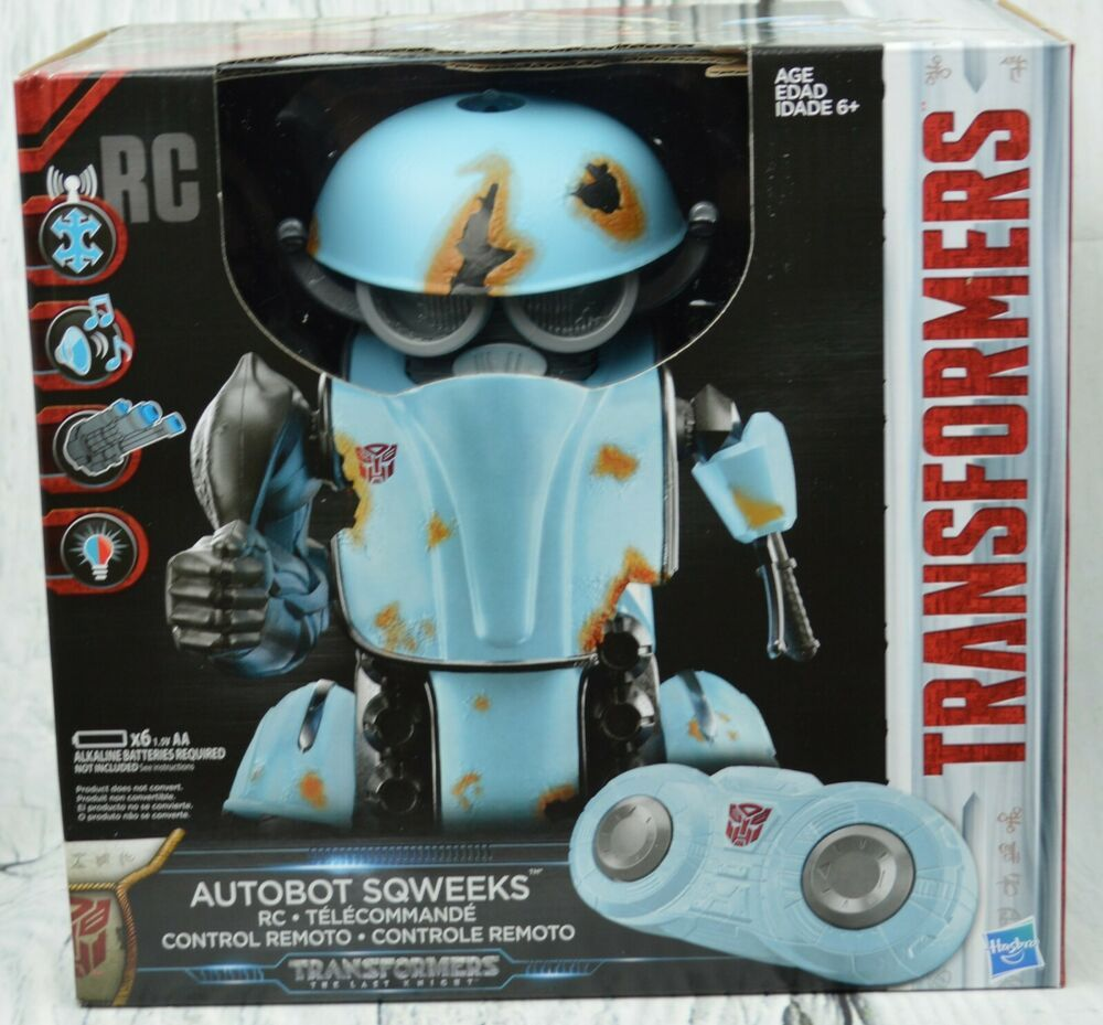 Transformers The Last Knight Rc Autobot Sqweeks Remote Control Hasbro Ages 6+  #...