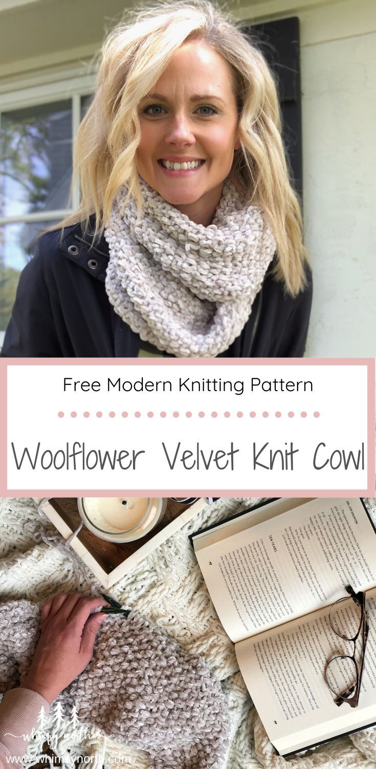 Featuring Bernat Baby Velvet Yarn and a textured seed stitch, the Woolflower Vel...