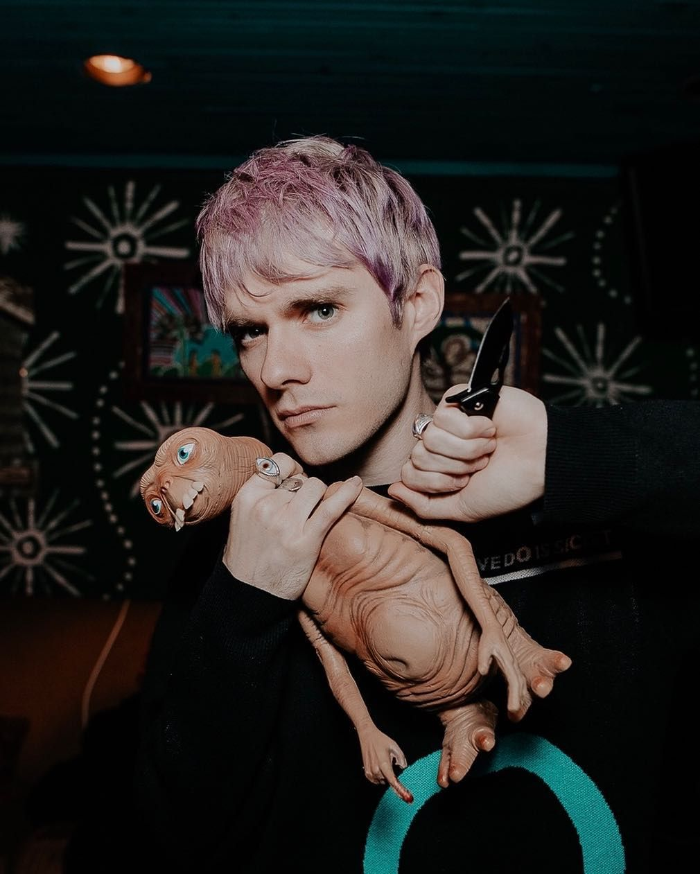 "Awsten Knight on Instagram: ""STAY AWAY FROM MY VIOLENT SON AND I"""