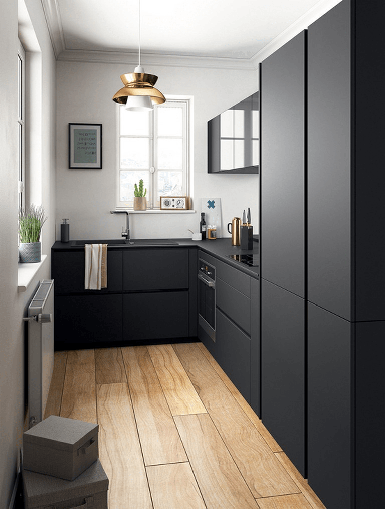 30  Lovely Small Kitchen Design Ideas 2019 Small Kitchen Ideas Design Ideas Kitc...